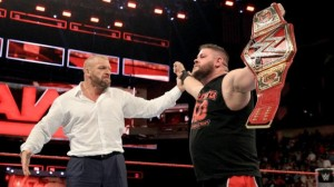 HHH and Kevin Owens