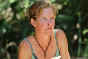 """""""Sitting in My Spy Shack"""" - Kassandra """"Kass"""" McQuillen during the ninth episode of SURVIVOR: CAGAYAN, Wednesday, April 23 (8:00-9:00 PM, ET/PT) on the CBS Television Network. Photo: Michael Yarish/CBS ©2014 CBS Broadcasting Inc. All Rights Reserved."""