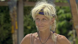 """""""It's My Night"""" – Tina Wesson on a special two-hour season finale of SURVIVOR: BLOOD VS. WATER, Sunday, Dec. 15 (8:00-10:00 PM, ET/PT), followed by a one-hour live reunion show hosted by Jeff Probst (10:00 –11:00PM, ET/PT), on the CBS Television Network. Photo: Screen Grab/CBS ©2013 CBS Broadcasting, Inc. All Rights Reserved."""